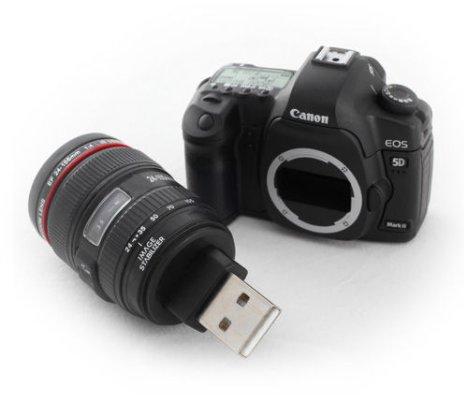Canon 5D Mark II Flash Drive