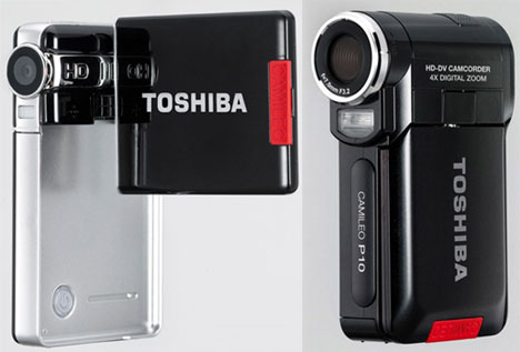 Toshiba P10, S10 Pocket Camcorders
