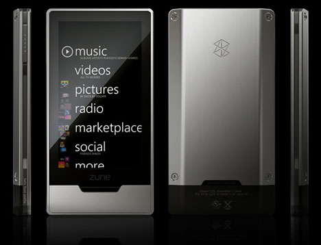 Zune HD Announced