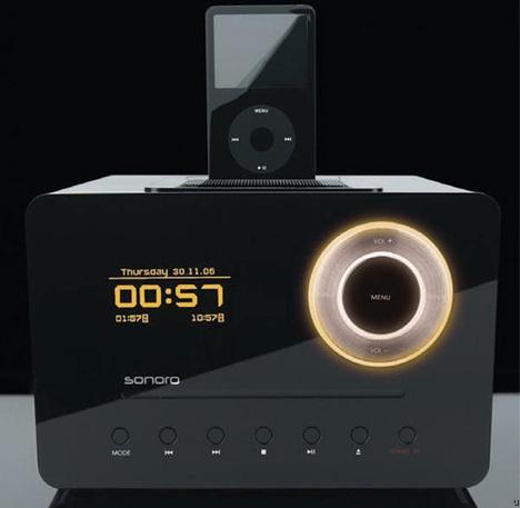 Sonoro Eklipse Gets iPod Dock