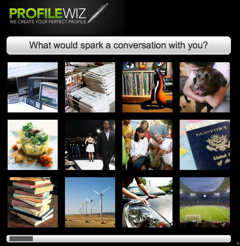 ProfileWiz: Automated Profile Writing for Online Dating
