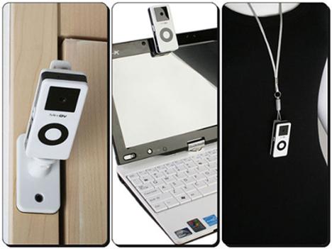 Spy Camera Looks like An iPod