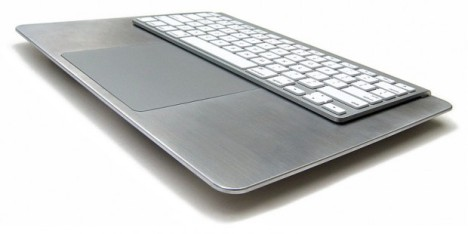 BulletTrain Adapter Turns Your Keyboard And Magic TrackPad Into A MBP Surface