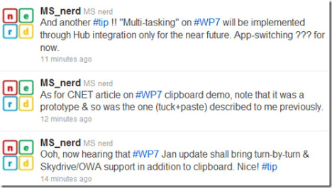 WP7 Update In Jan Might Bring Turn-by-turn GPS And Skydrive