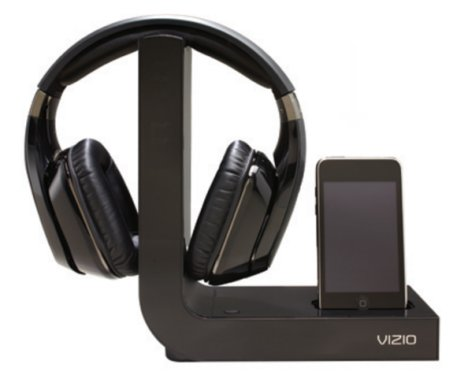 Vizio XVTHP200 Wireless Headphones With iPod Docking Station Visits The FCC