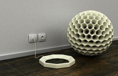 Giant dust ball supposedly cleans up your home