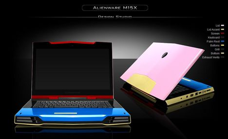 Colorware Now Does The Alienware M15X