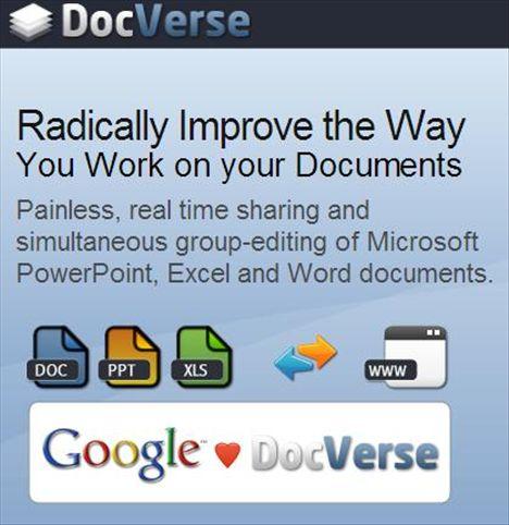 Google Acquires DocVerse