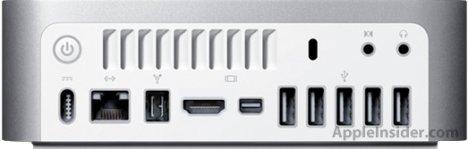Upcoming Mac mini To Sport HDMI?