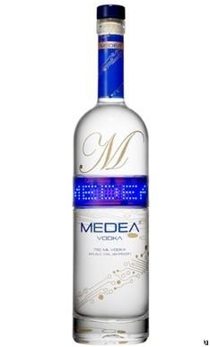 Medea Vodka programmable bottle