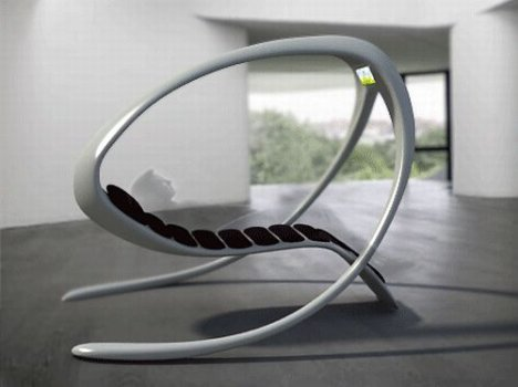 Sensation Concept Lounge Chair Has A Built-in TV