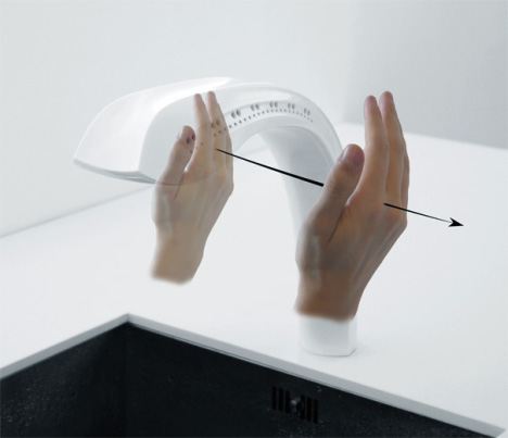Concept: Spatial Interaction Touchless Kitchen Tap