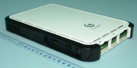 Clear 4G Wi-Fi Modem Visits The FCC