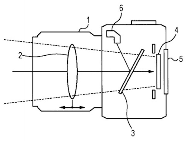 Sony patent hints at NEX-sized camera with translucent mirror