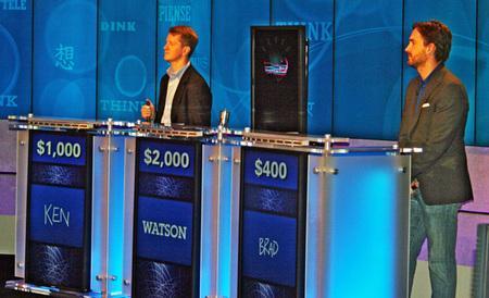 Supercomputer in Jeopardy!
