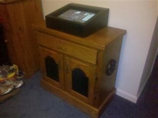 Touchscreen jukebox