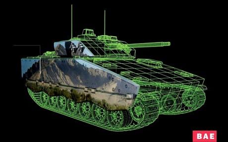 Invisible tank