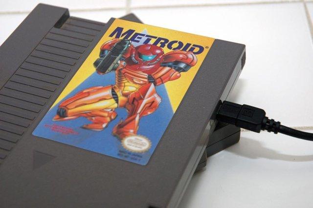 Metroid external hard disk drive