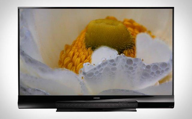 "Mitsubishi 92"" 3D Home Cinema TV"