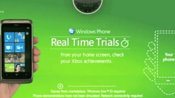 Windows Phone 7 time trial ads