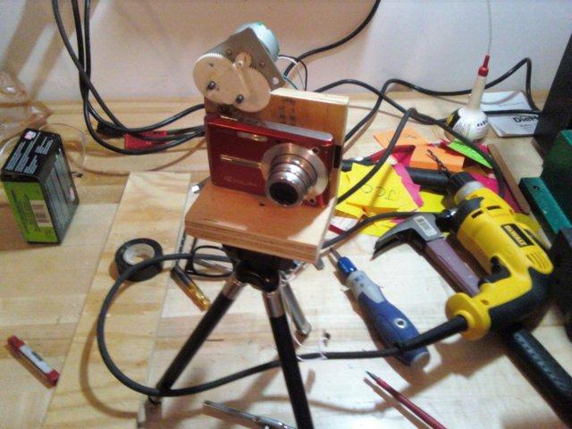 Air freshener camera trigger