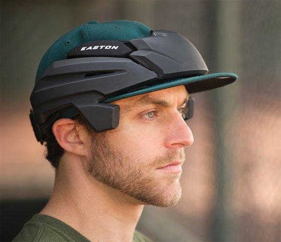 Easton pitcher helmet