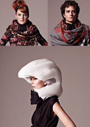 Inflatable crash helmet