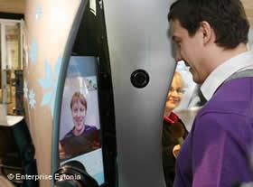 Skype booth