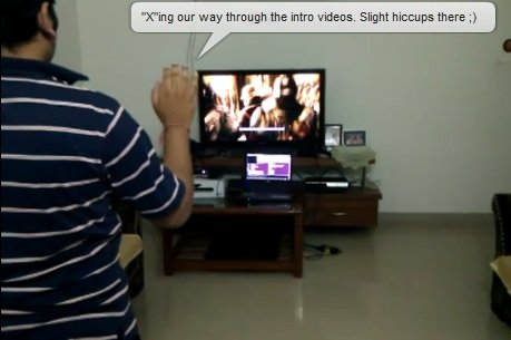 Kinect working on the PlayStation 3