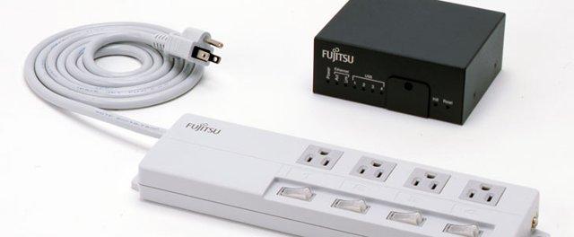 Fujitsu smart powerstrip and gateway