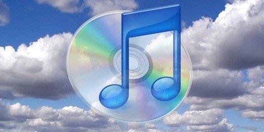iTunes cloud music