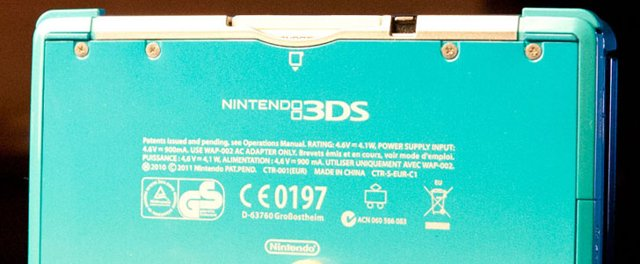 French Nintendo 3DS