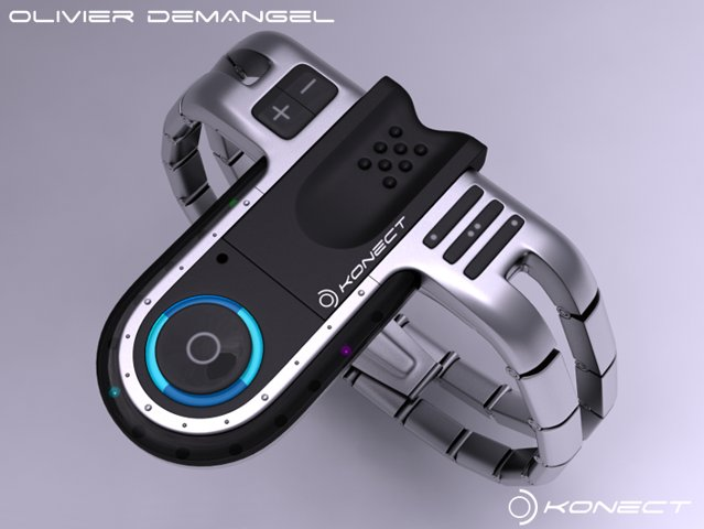 Konect USB concept watch