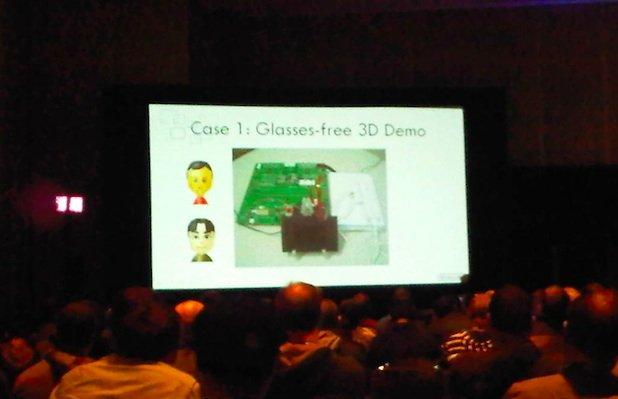 Nintendo Wii 3D demo