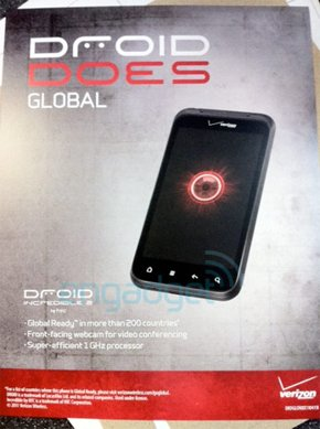 Droid Incredible 2 flyer
