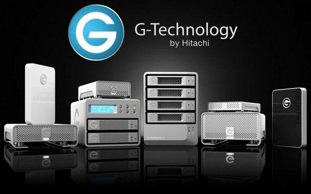Hitachi G-Technology external hard drives