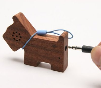 Motz Wooden PET speaker