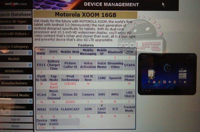 Motorola Xoom 16GB Verizon