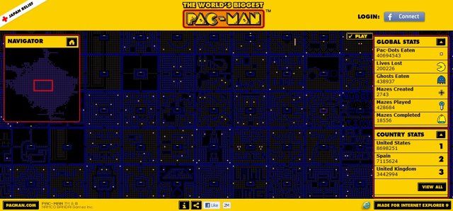 The World's Biggest Pac-Man Game