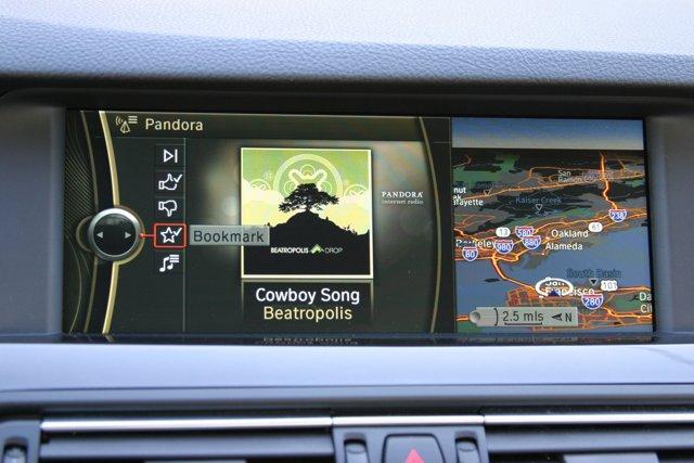 Pandora on BMW apps