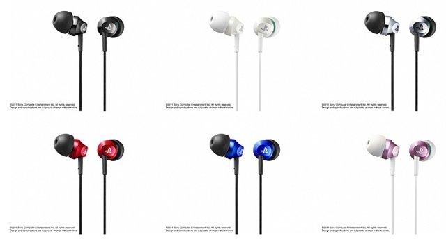 Sony introduces new PSP headphones branded earphones