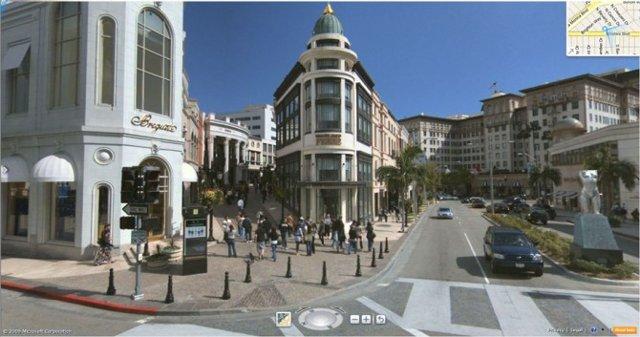 Bing Maps Street View