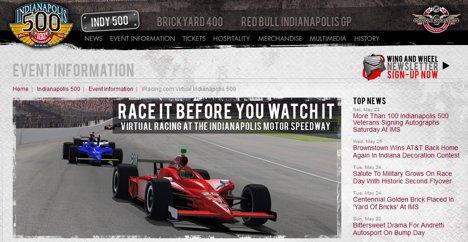 iRacing.com Indy 500