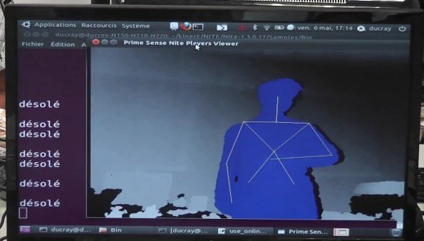 Kinect sign language