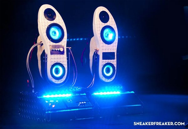 Sneaker Speakers Doomsday Edition