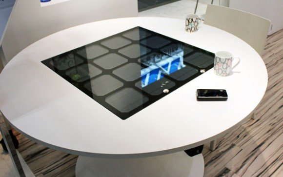 Panasonic Solar wireless charging table