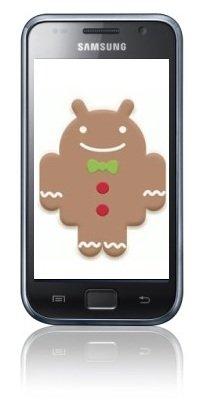 Gingerbread Galaxy S