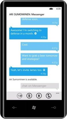 Windows Phone 7 Messaging