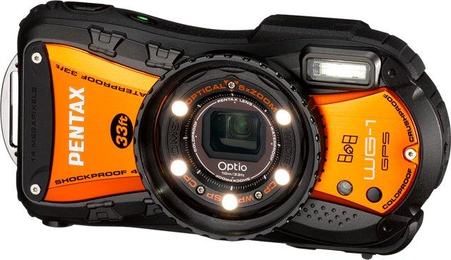 PENTAX Optio WG-1 GPS Orange
