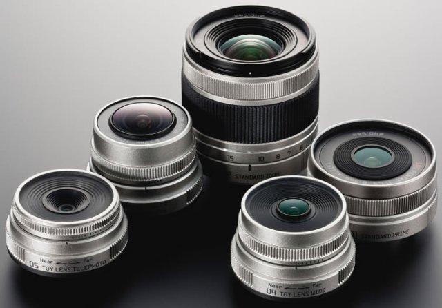 Pentax Q lenses